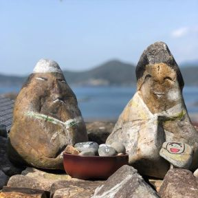 Image result for dolls made from stones