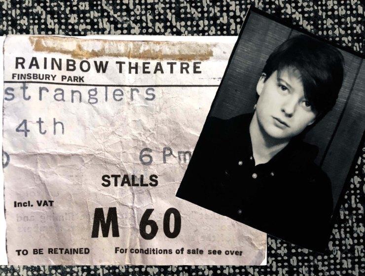 NEW stranglers ticket