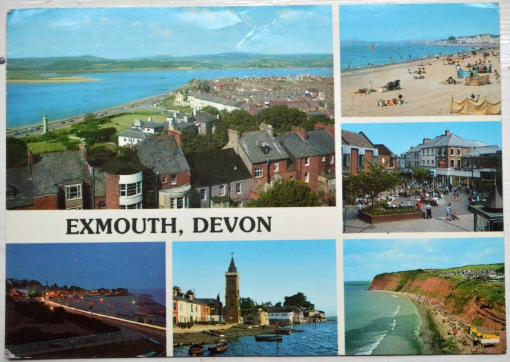 Exmouth Postcard 2 front