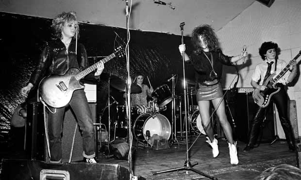 Slits play the Electric Circus, Manchester, in 1977.